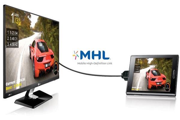 Kết nối MHL (Mobile HD Link)