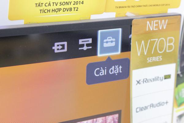 Hướng dẫn kết nối mạng với Tivi Sony 1