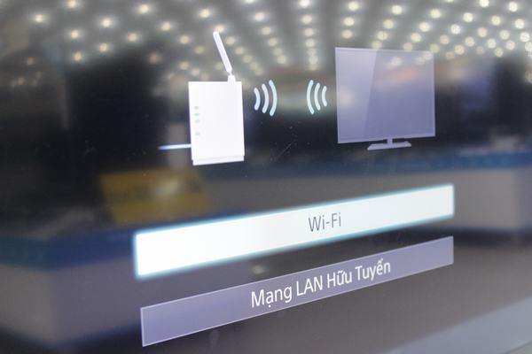 Hướng dẫn kết nối mạng với Tivi Sony 6