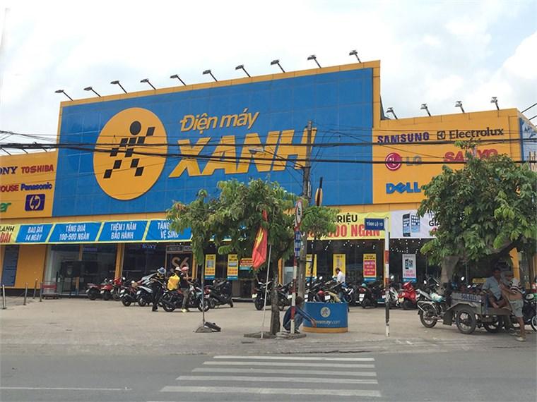 Siêu thị điện máy xanh tại 953 Tỉnh Lộ 10, Khu Phố 8, P. Tân Tạo, Q.Bình Tân, TP.Hồ Chí Minh