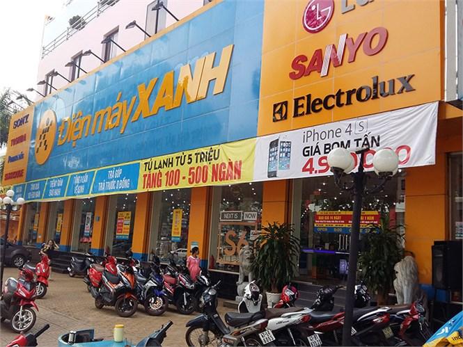 Siêu thị điện máy xanh tại 37 Nguyễn Tất Thành, Phường Tân Lợi, Thành Phố Buôn Ma Thuột, Tỉnh Đăk Lăk