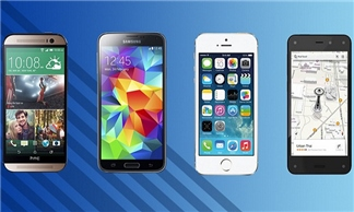 So sánh cấu hình giữa Amazon Fire, iPhone 5S,  Galaxy S5 và HTC One M8