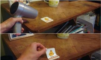 8 mẹo hay của máy sấy tóc mà bạn không ngờ tới