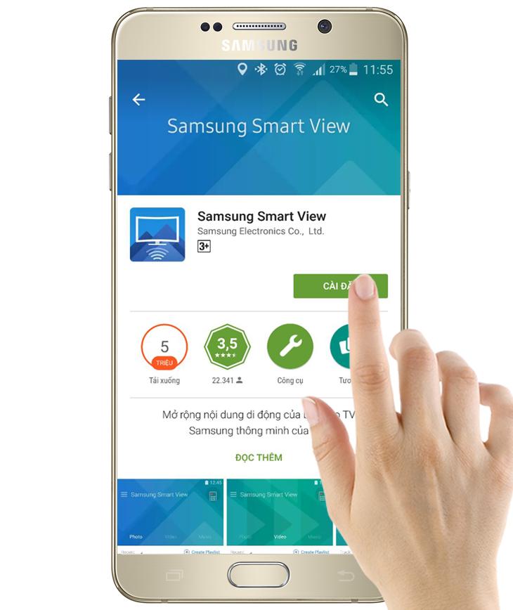 Hướng dẫn 3 bước sử dụng Smartphone điều khiển tivi vô cùng