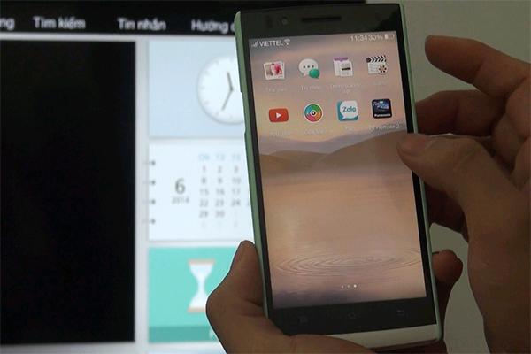 3 bước đơn giản sử dụng Smartphone điều khiển dòng tivi Viera Panasonic 2014