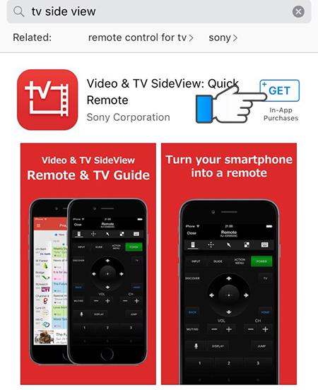 tải ứng dụng Video & TV SideView