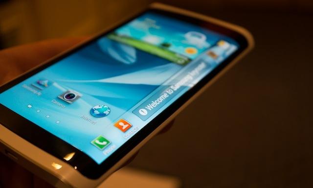 Galaxy Note 4 sẽ có màn hình ba chiều?