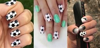 28+ kiểu móng tay đep, ấn tượng và độc đáo hưởng ứng vòng loại World Cup 2022