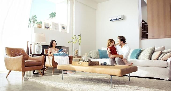 Máy lạnh giúp mang đến sự mát mẻ dễ chịu cho cả nhà