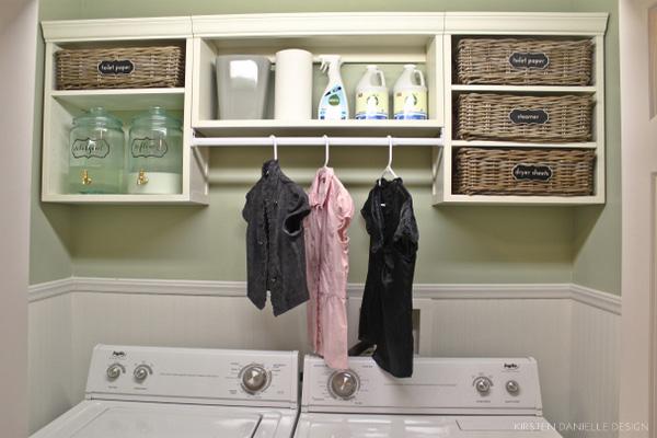 Thanh treo quần áo hỗ trợ treo móc quần áo dễ dàng hơn