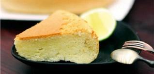 [Video] Cách làm bánh bông lan cực dễ bằng nồi cơm điện