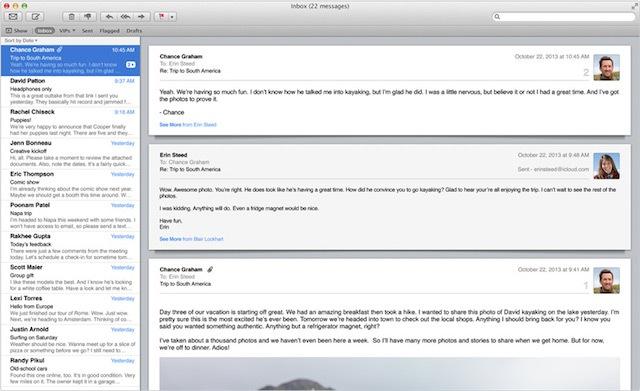 Soạn Email (⌘ + Shift + I)