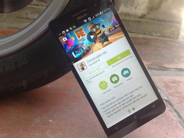 Trải nghiệm Google Play Store với giao diện Material đẹp mắt