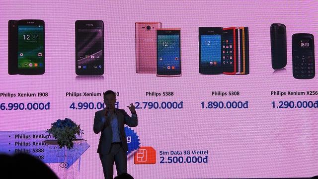 Philips tấn công thị trường Việt Nam bằng loạt smartphone giá rẻ