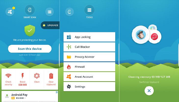 5 ung dung diet virus tot nhat cho android 7 - Top 10 Ứng Dụng Diệt Virus Trên Android Tốt Nhất - Hiệu Quả Nhất Trong Năm 2020 Này