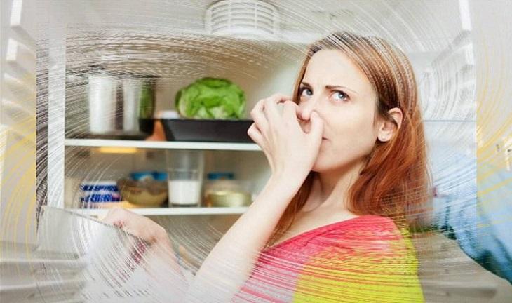 làm giảm mùi hôi rau củ trong tủ lạnh