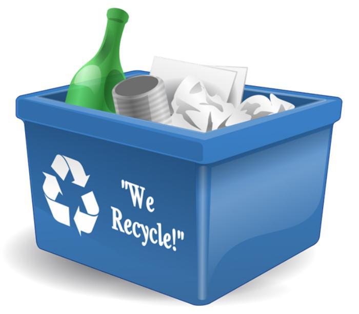 Nên vứt rác trước khi thùng rác quá đầy