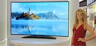 LG cho đặt hàng tivi OLED 4K đầu tiên trên toàn thế giới