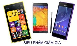 7 smartphone siêu sao giảm khủng đáng mua nhất 2014