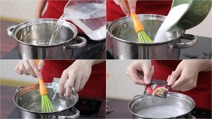 Cách làm thạch rau câu phô mai