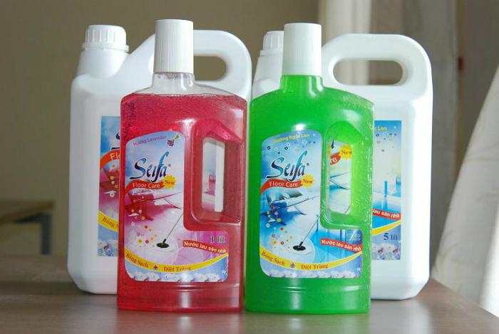 Trong chất tẩy rửa chứa nhiều clo có hại cho các vật dụng làm từ thép