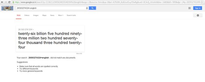 Tính năng hữu ích của Google