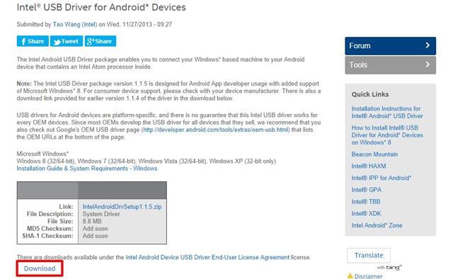 Hướng dẫn cài đặt Driver Asus Zenfone trên máy tính Windows