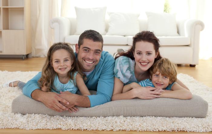Không gian sống sạch sẽ, thoáng đãng sẽ mang lại hạnh phúc cho gia đình