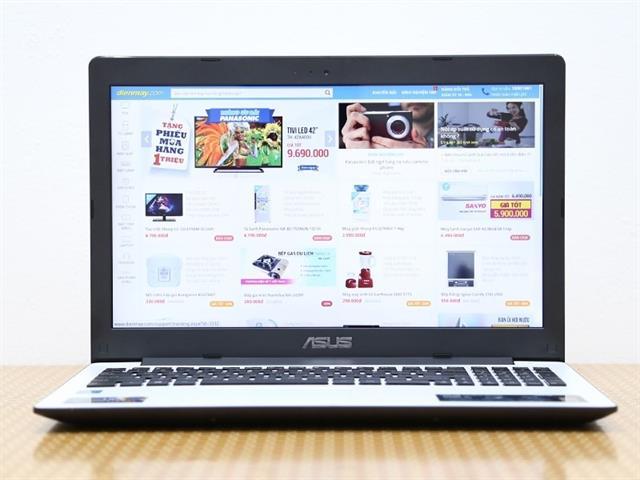 Máy sử dụng màn hình Splend Video Intelligent, LED Backlight rộng 15.6 inch (1366 x 768 pixels)