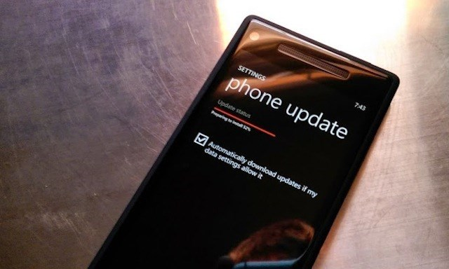 Windows Phone cũng âm thầm nhận được bản cập nhật mới