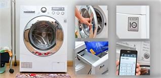Máy giặt LG WD-13600 – Thêm công năng tối ưu tiện lợi