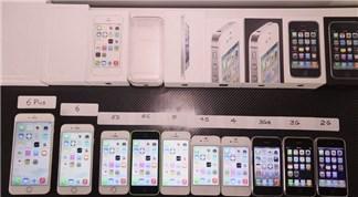 """Màn đọ tốc độ """"hoành tráng"""" của loạt iPhone từ 2G đến 6 Plus"""