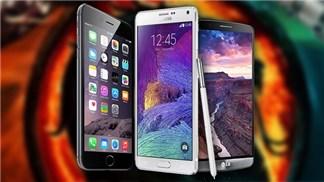 10 smartphone có thời lượng pin tốt nhất hiện nay, iPhone 6 Plus đứng thứ 5