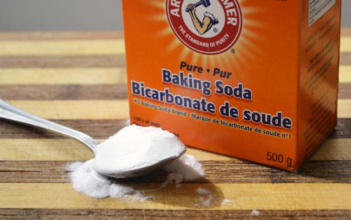 Baking soda giúp khử mùi đệm rất hiệu quả