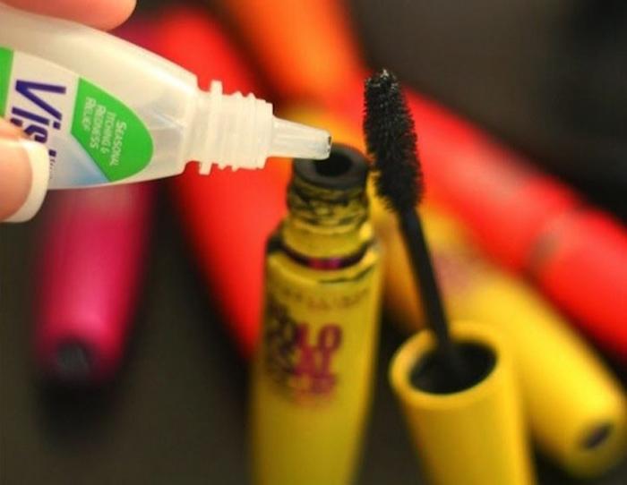 Không còn lo mascara bị khô