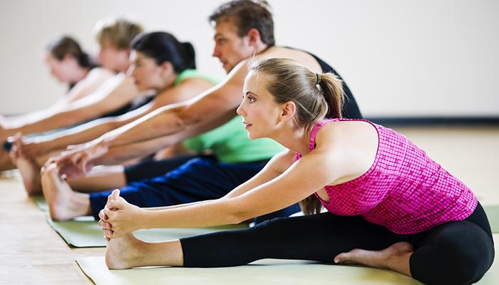 Tập luyện yoga cũng là cách để có tinh thần thoải mái thư giản