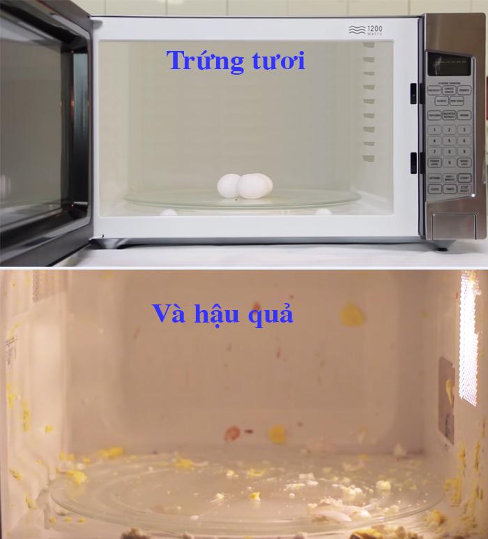 10. Trứng tươi
