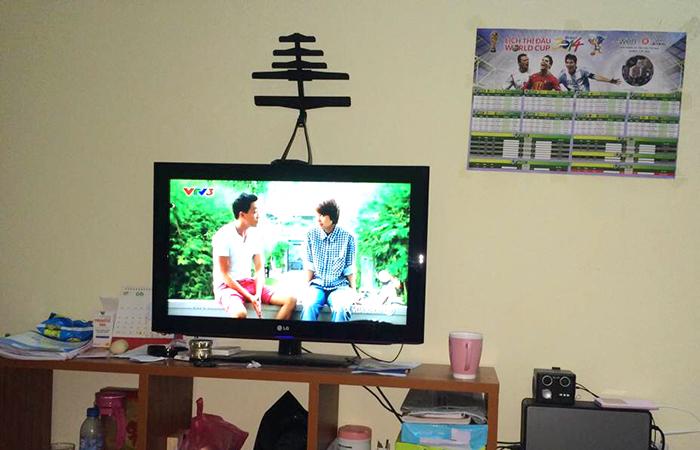 """Tivi có DVB- T2 không cần phải sử dụng thêm một chiếc ăn- ten """"hoành tráng"""""""
