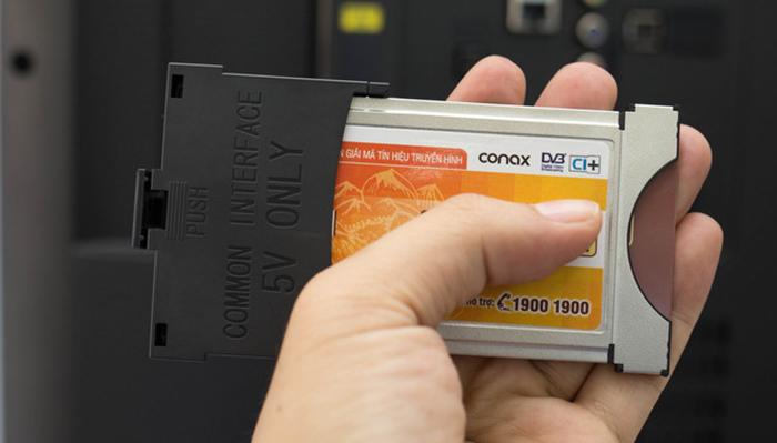 Giải pháp khi muốn xem thêm kênh KTS là phải có thẻ CAM