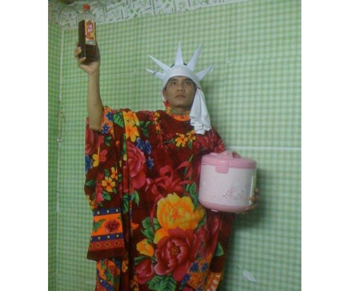 Tượng nữ thần tự do made in Viet Nam