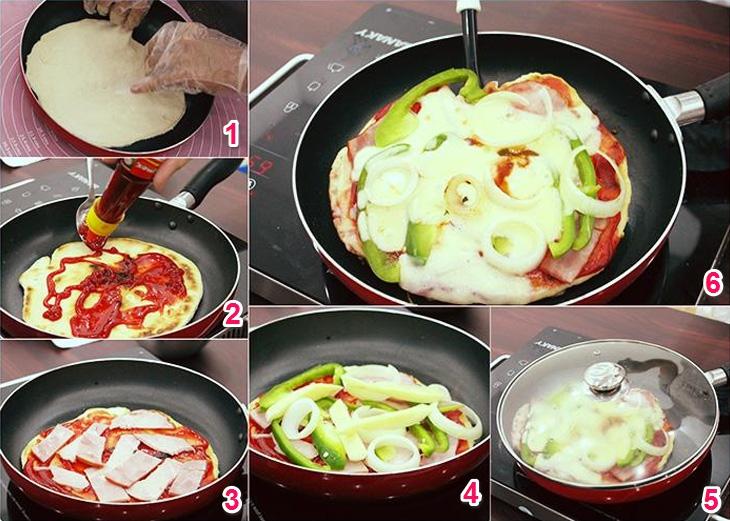 cách làm pizza đơn giản tại nhà (02)