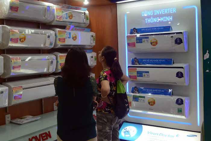 Sản phẩm máy lạnh dùng công nghệ Inverter