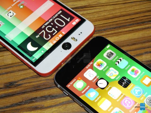 HTC Desire Eye và iPhone 6