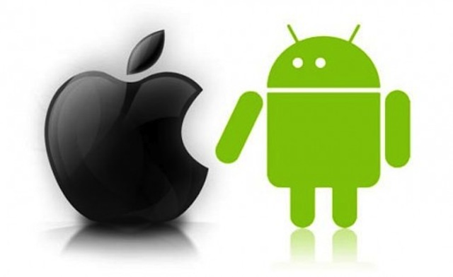 Android và Apple đã giành lấy thị trường từ sớm
