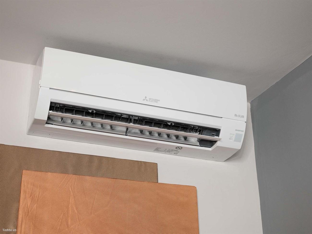 Lắp máy điều hòa ở nơi nóng nhất