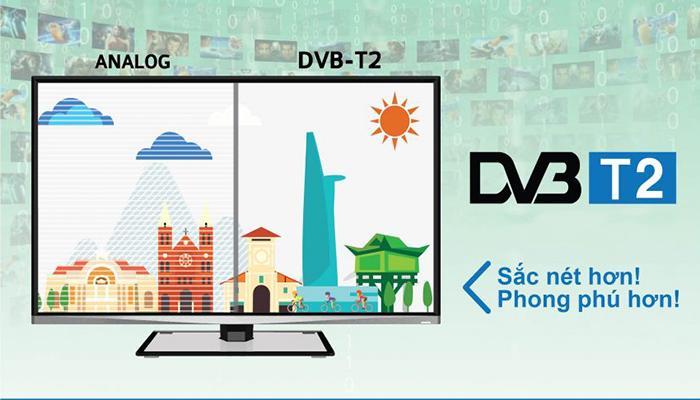 Chuẩn DVB- T2 không bị ảnh hưởng bởi thời tiết