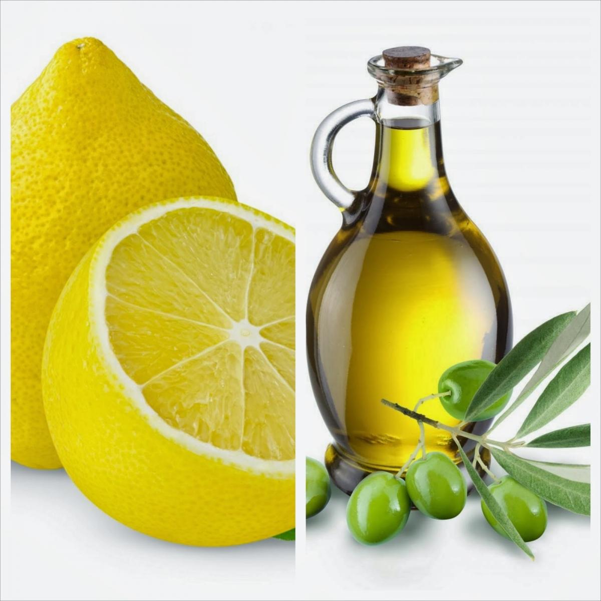 Dầu oliu và chanh giúp làm sạch bề mặt tủ lạnh