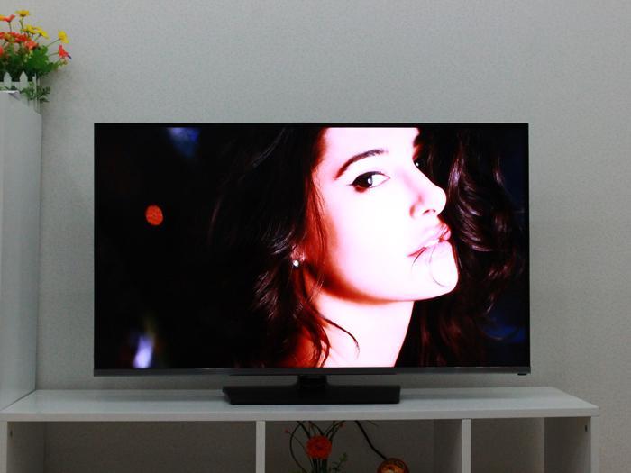 Hình ảnh được sao chép hiển thị trên màn hình tivi
