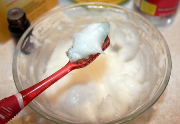 Sử dụng bột baking soda