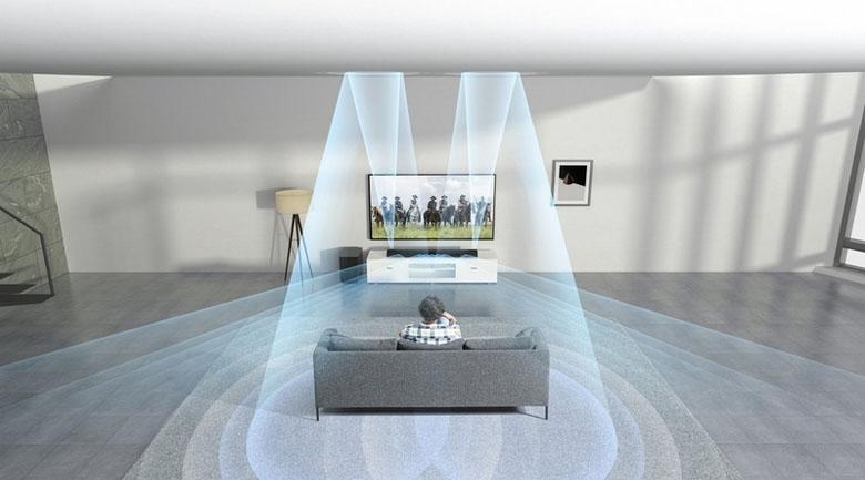 Âm thanh vòm 360° mang đến một trải nghiệm sống động như thật.